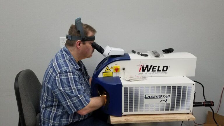 iWeld LaserStar Jewelry Machine
