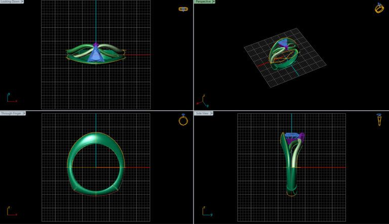 Software for creating and designing rings