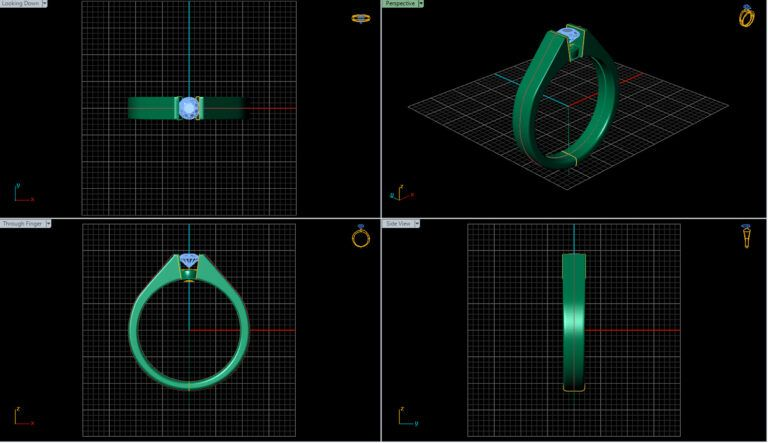 Creating a ring in software