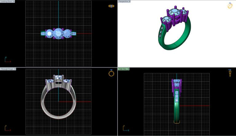 Software for designing and creating rings