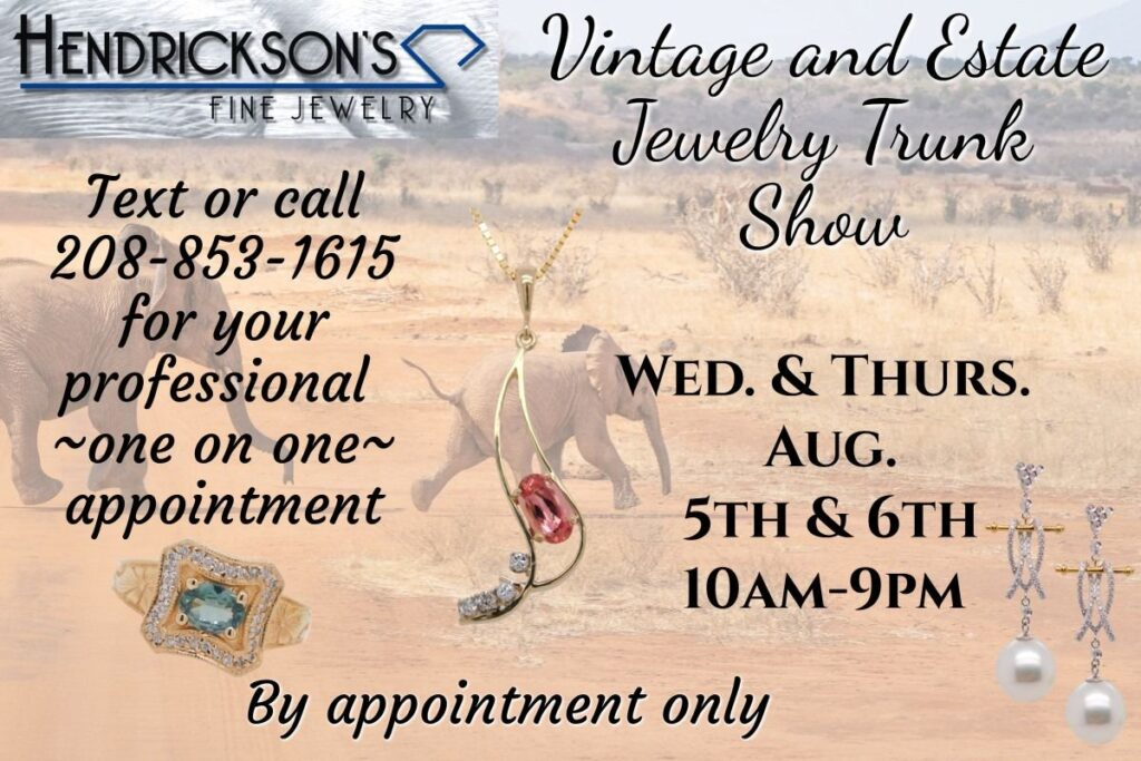 Vintage And Estate Jewelry Trunk Show